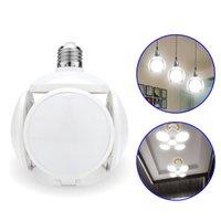 لمبة LED E27 40W كرة القدم UFO مصباح 360 درجة طوي مصباح AC 85-265V