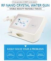 RF Portable Нет иголки Фракционные Бесплатные мезотерапевтический пистолет Meso Машина Удаление морщин Вода впрыскивая кожа Омолаживание салона Используйте лицо