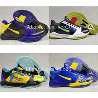 New Arrivals Cheap Mens Zoom Kobe 5 5s V Released PROTRO Bas...