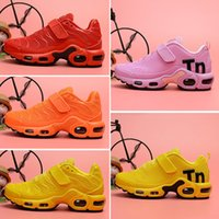 2019 new TN Running Shoes for boys girls kids Black Red Whit...