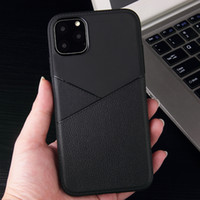 Matte Soft TPU Gel For Iphone 11 Case Anti Slip Leather Phon...