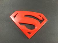 Superman Emblem 3D Chrome Truck Car SUV Automotive Zubehör DC Justice League