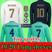 2019 2020 Real Madrid Soccer Jerseys Long sleeves jerseys ho...
