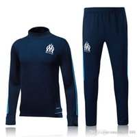 real madrid Olympique de Marseille Soccer Tracksuit GOMIS CA...