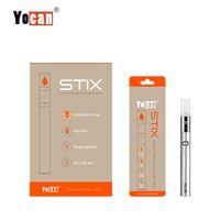 Authenic Yocan Stix Vape Pen Vaporizador portátil Kits de arranque de voltaje variable Botas de cerámica con diseño a prueba de fugas
