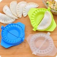 Farbe zufällig 1PC Küche Magie kreative Lebensmittelqualität Kunststoff Prise Home Pack Knödel Maschine GB674