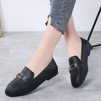 Summer Woman Flats Women Leather Ballet Flats Shoes Moccasin...