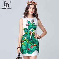 d1a49e09ba2 Wholesale dragonfly dresses for sale - Runway Summer Dress Women s  Sleeveless Tank Crystal Dragonfly Plant