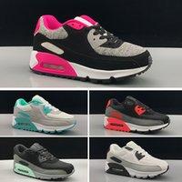 9fc1f10ce Nike air max 90Zapatillas de deporte Zapatillas clásicas 90 niño niña niños  niños Zapatillas de correr