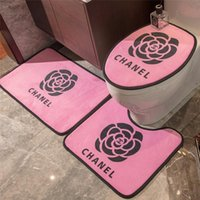 Print Flower Home Mat INS Style Bathroom Indoor Mats Non- sli...
