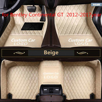 for Bentley Continental GT 2012-2017year non-slip non-toxic foot pad car foot pad