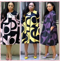 새로운 스타일의 아프리카 여성 의류 다시 키 패션 인쇄 천 드레스 사이즈 L XL XXL XXXL 새로운