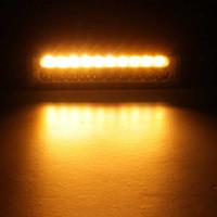 50W 자동차 LED 워크 라이트 바 콤보 브람 안개 운전 램프 신호 6000LM DC9-32V을 돌려