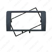Auto 2DIN Stereo Radio Panel Blendenrahmen Für AUDI A3 2003-2008 A3 (8P / 8PA) 2008-2012 Einbau Dash Fitting CD Rahmen Trim Kit # 5042