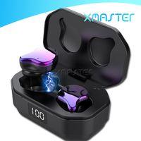 G01 шумоподавляющие наушники, пылезащищенный отпечатков пальцев сенсорный Bluetooth 5.0 Mini TWS Earbuds IPX6 водонепроницаемый HIFI стереосету лучшие наушники Xamster
