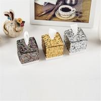 Bonbonnière Faveurs de mariage et cadeaux Boîtes de bonbons Sacs pour clients décoration de mariage baby shower de célébration YQ01787