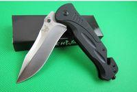 벤치 메이드 DA57 스테인레스 스틸 수동 릴리스 미니 포켓 접는 나이프 라인 포켓 커터 캠핑 나이프 Adul