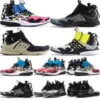 Best Acronym X Presto Mid V2 Men Running Shoes Racer Pink Co...