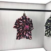 2020SS Frühling und Sommer Neue High Grad Baumwolldruck Kurzarm Rundhals Panel T-Shirt Größe: M-L-XL-XXL-XXXL Farbe: Schwarz Weiß VN2