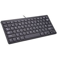 Mini ultradünne USB verdrahtete Tastatur Notebook Desktop Computer Desktop stumme Tastatur leises Büro Mini Tastatur Smart Office bevorzugt