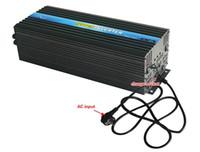 Freeshipping DC 12 V 24 V 48 V para AC 100 V ~ 120 V 220 V ~ 240 V 5000 W Power Inverter com Carregador de Bateria