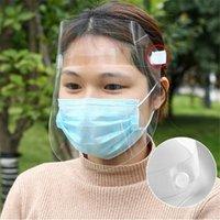 24 часа корабль ясно полный лицевой щиток защитная маска для лица анти капля прозрачные взрослые маски ветрозащитный бытовой защиты в наличии