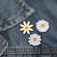 3 스타일 귀여운 배지 꽃 YES ON 여성 브로치 에나멜 핀 패션 보석 가방 모자 데님 핀 액세서리 선물 브로치 키즈 T358