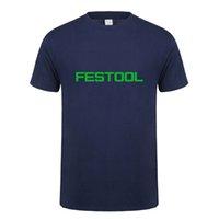 T-shirts Festool T-shirt Mäns Tops Fashion Short Sleeve VerktygT-tröja Tees Mans Tshirt LH-053