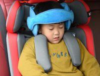 Kinderkissen Nackenkissen Auto Auto Auto Sitz Artefakt Schlafhauptbaby-Kissen Sitzkissen befestigt