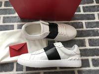 Siyah Bant Lady Konfor Rahat Elbise Ayakkabı Spor Sneaker Erkek Casual Deri Ayakkabı Kişilik Bayan Yürüyüş Trail Yürüyüş Eğitmenler Sevgililer