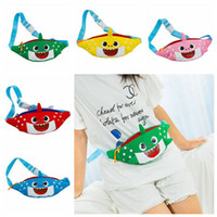 5 Colors Baby Shark Waist Bag Cartoon 3D Animal Printed Kids...