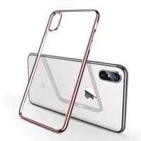 Оптовая мода прозрачный мягкие TPU пластиковый чехол для телефона iPhone хз Макс XR пользовательских собственный дизайн УФ-печать