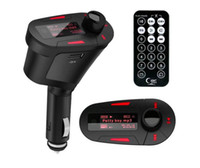 Car Kit MP3-Player FM Transmitter Modulator Wireless USB SD MMC LCD Mit Fernbedienung Licht Für Telefon XR Huawei P30