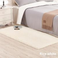 2019 nuevas alfombras mullidas antideslizante Shaggy Área Alfombra Comedor Hogar Dormitorio Alfombra Alfombra de piso envío gratis