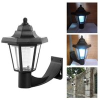 Vintage Solar LED Wall Lamp Waterproof Outdoor Solar Lights ...