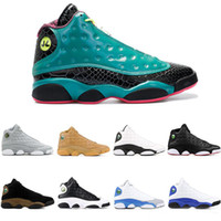 13 chaussures de basket-ball 13s Altitude barons chat noir élevé chicago cp3 accueil définissant moments DMP Mens Sports Sneakers
