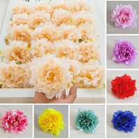 New Artificial Flowers Silk Peony Flower Heads Wedding Party...