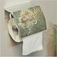 화장실 종이 홀더 중국 위생 도자기 화장지 수건 걸이 화장실 롤 홀더 욕실 용 방수 티슈 상자