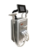 Newest designed 3 in 1 rf+ nd yag laser+ opt tattoo removal IP...