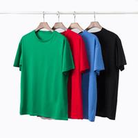 2020 유명한 남성 T 셔츠 폴로 패션 남성 높은 품질 캐주얼 짧은 소매 남성 여성 높은 품질 스타일리스트 문자 프린트 티셔츠