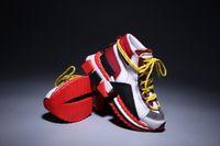 حار بيع أعلى أحذية سوبر الملك رياضية، أحذية، أحذية متعددة الالوان Solento الرياضة الترفيهية الحمراء سوليد للرجال والنساء مع أحذية صندوق التصميم