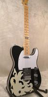 Nueva guitarra eléctrica diapasón de arce cuerpo de tilo y mástil de arce serie NDeluxe guitarra eléctrica Nashville Jennings