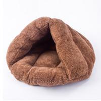 قابل للغسل كلب صغير النوم الدافئة عش أربعة صديقة للبيئة سيزونز البيت الكوني متعدد الوظائف لينة داخلي القط سرير مستلزمات الحيوانات الأليفة