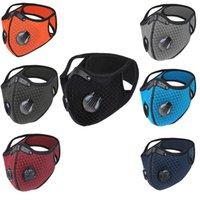 Masques plus récents Activated carbone équitation Masque Plein Air Anti-buée Haze PM2,5 hommes et femmes Préchauffage vélo anti-poussière sport avec un masque de filtre