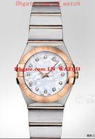 Yeni Constellation 123.20.24.60.55.001 123.20.38.58.00 Kadınlar klasik Casual Saatler Top Marka Lüks Lady Kuvars saatler Yüksek Kalite