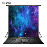 Laeacco Universe Starry Scenery Portrait Baby Children Photo...