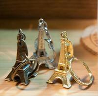 최신 에펠 탑 합금 열쇠 고리 / 프랑스 에펠 탑 열쇠 고리 에펠 탑 열쇠 고리 에펠 탑 3 색 WCW196