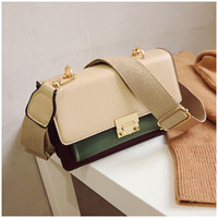 Leather Two- tone bags women Bags Top- Handle Shoulder Cross b...