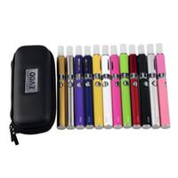 EVOD MT3 Single Starter Zipper Case Kit E Zigarette Ecig MT3 Zerstäuber 650mah 900mah 1100mah Batterie vape Vaporizer Ego Dhl-frei