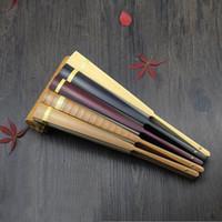"""Grande Mão Branca Em Branco Fãs de Papel De Arroz Pintura Chinesa Fã Dobrável Adulto Caligrafia Belas Artes Programa de Bambu Fan 10 """"QW9919"""